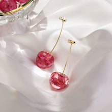 Load image into Gallery viewer, Earrings, 2020 New Arrival Dominated Acrylic Geometric Sweet Cherry  Earrings
