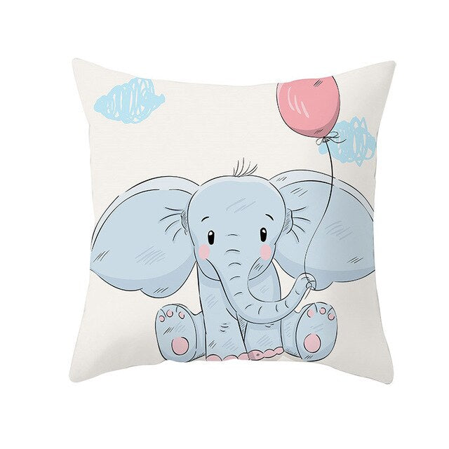 Cushion Cover, Cute Animal Cartoon