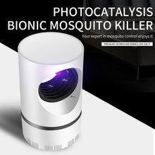 Load image into Gallery viewer, Mosquito Trap, LED UV Silent Fan Mosquito & All Flying Insects Trap