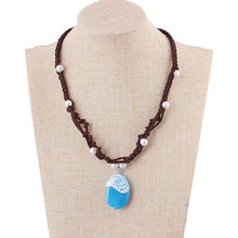 Load image into Gallery viewer, Necklace, Luminous Polynesia Princess Moana Ocean Necklace