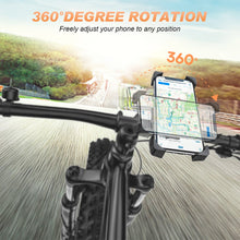 Load image into Gallery viewer, Phone Holder,  Universal Motorcycle Bicycle Phone Holder Handlebar Stand Mount Bracket