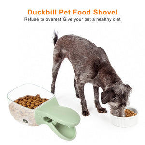 Pet Food Spoon,  Dog Bowls Multi-Function Bowl For Cats/Puppies/Small Dogs Scoop