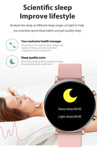 Smart Watch, 2020 Smart Bluetooth Calls Waterproof Sport Fitness Unisex Smart Watch For Android iPhone
