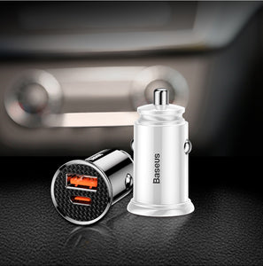 Car Charger, USB Car Charger QuickCharge 4.0 QC4.0 QC SCP 5A Type C
