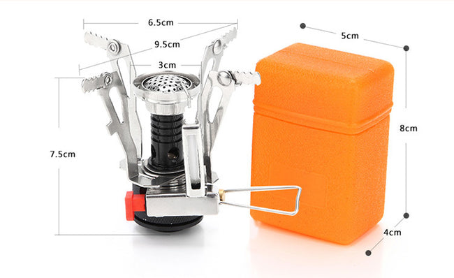 Portable Gas Cooker, High quality Portable Outdoor Camping Aluminum Gas Cooker