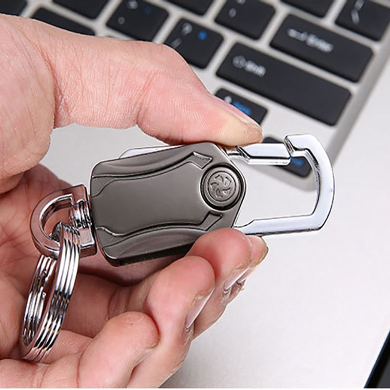 Mighty Wonder Keychain, 4-In-1 Portable Keychain Bottle Opener Phone Holder Cutter Cum Spinner