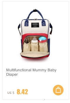 Diaper Bag, Large Capacity With USB Interface Mommy Maternity Waterproof Diaper Bag