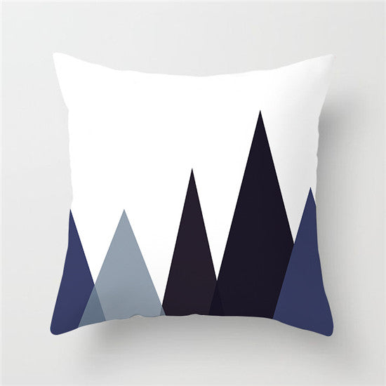 Cushion Cover, Geometric Nordic Style