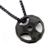 Pendant, Barbell Plate Weight Lifting Pendant & Necklace for Bodybuilders