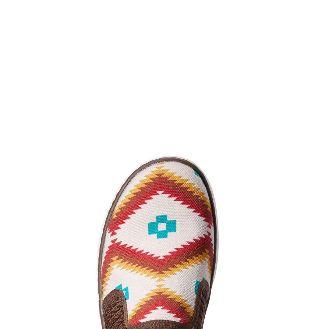ARIAT LADIES RYDER TURQUOISE SADDLE BLANKET