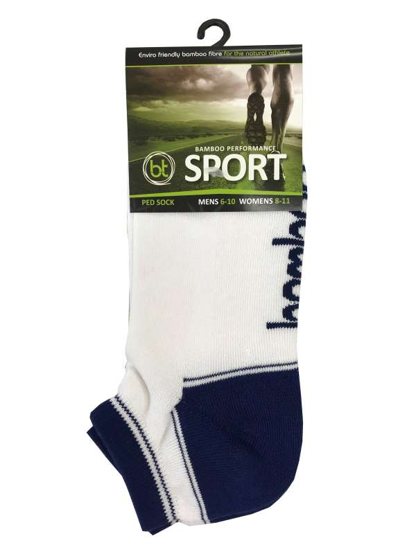 BAMBOO PED SPORTS SOCKS LOW CUT