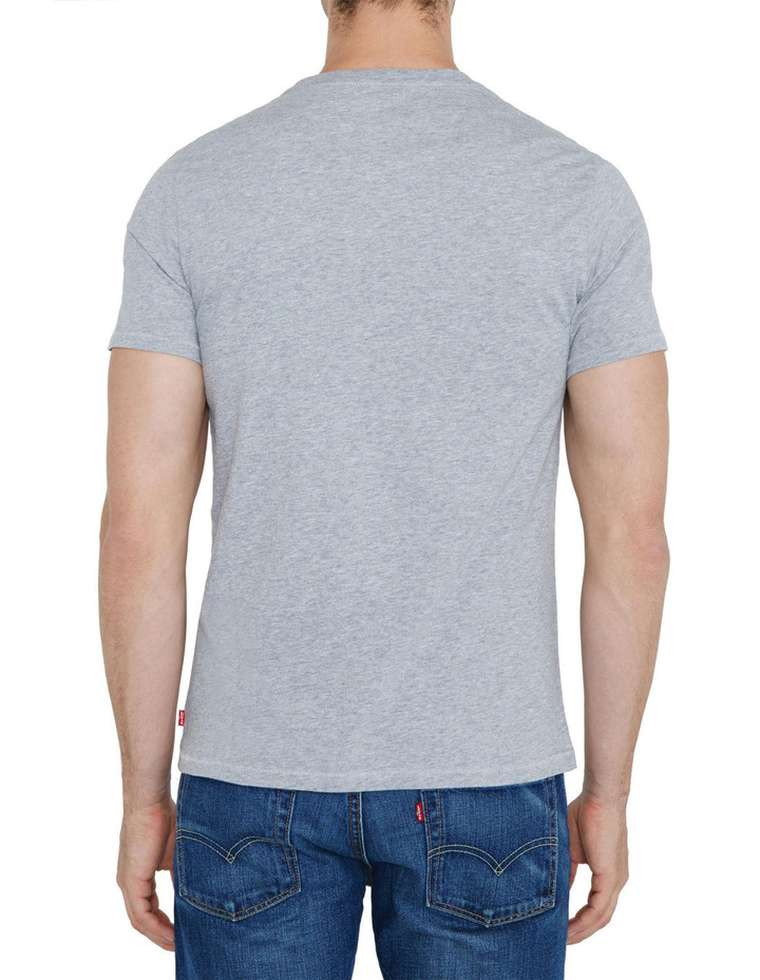 LEVIS MENS CLASSIC LOGO TEE BATWING MIDTONE