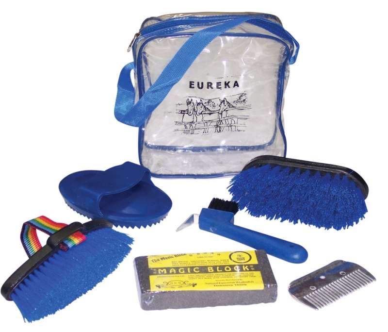 PONY CLUB GROOMING KIT WITH BAG