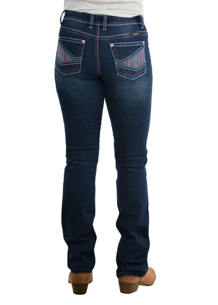 Pure Western Ladies Jules Relaxed Rider Jeans