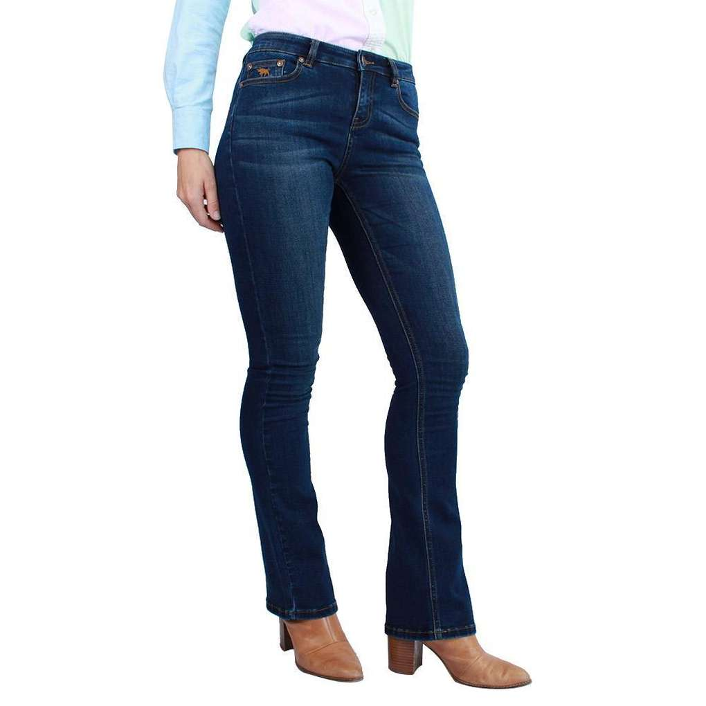 RINGERS WESTERN KATHERINE CLASSIC BOOT LEG JEANS LONG