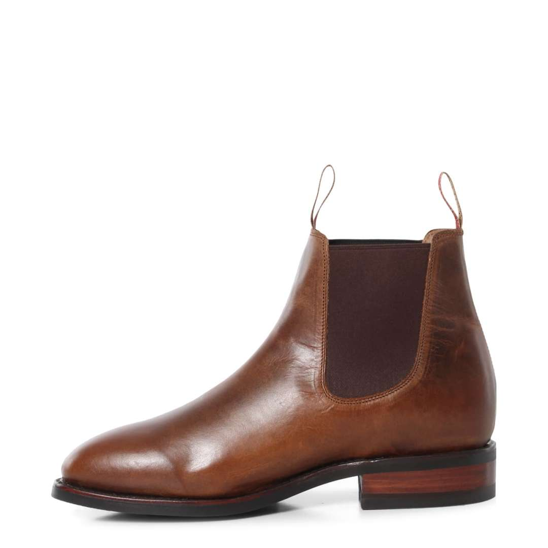 RINGERS WESTERN MENS KUNUNURRA BOOT LEATHER