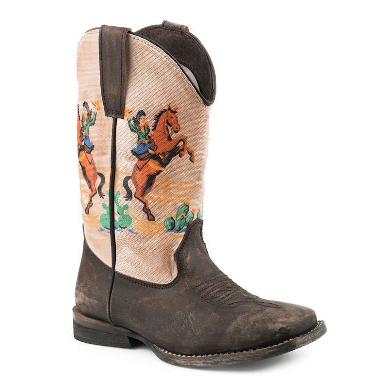 ROPER KIDS VINTAGE RODEO BROWN