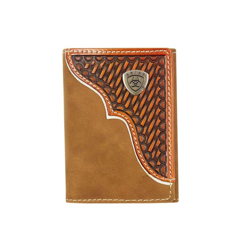 ARIAT TRI FOLD WALLET 3110A