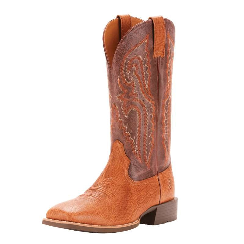 ARIAT MENS HERITAGE LATIGO TAN BULLHIDE OLD BROWN