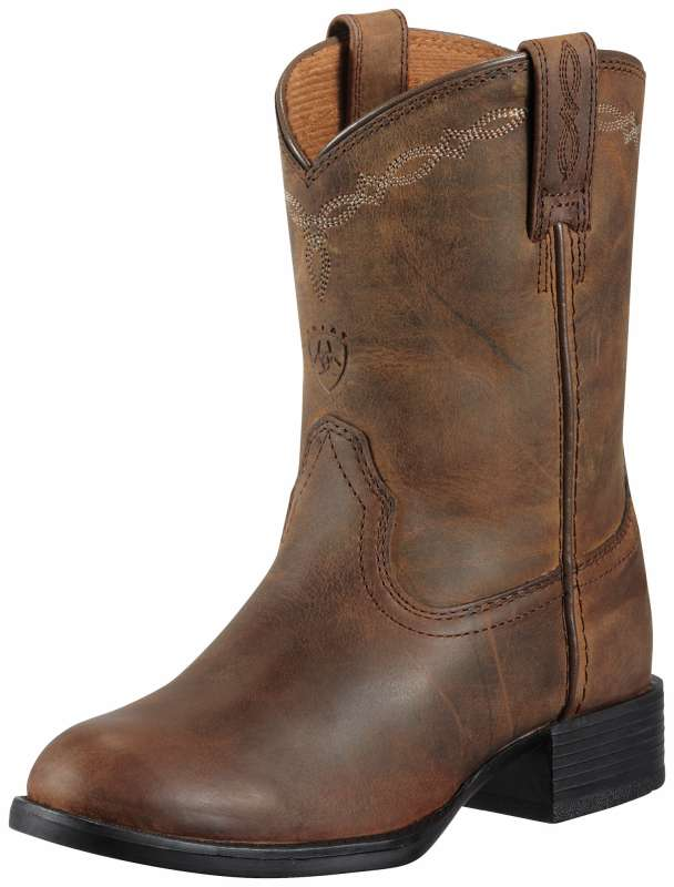 Ariat Heritage Roper Kids Distressed Brown