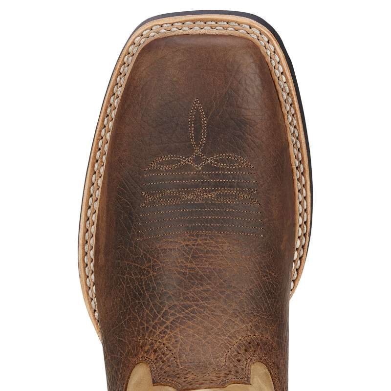 Ariat Mens Quickdraw Bark/Beige