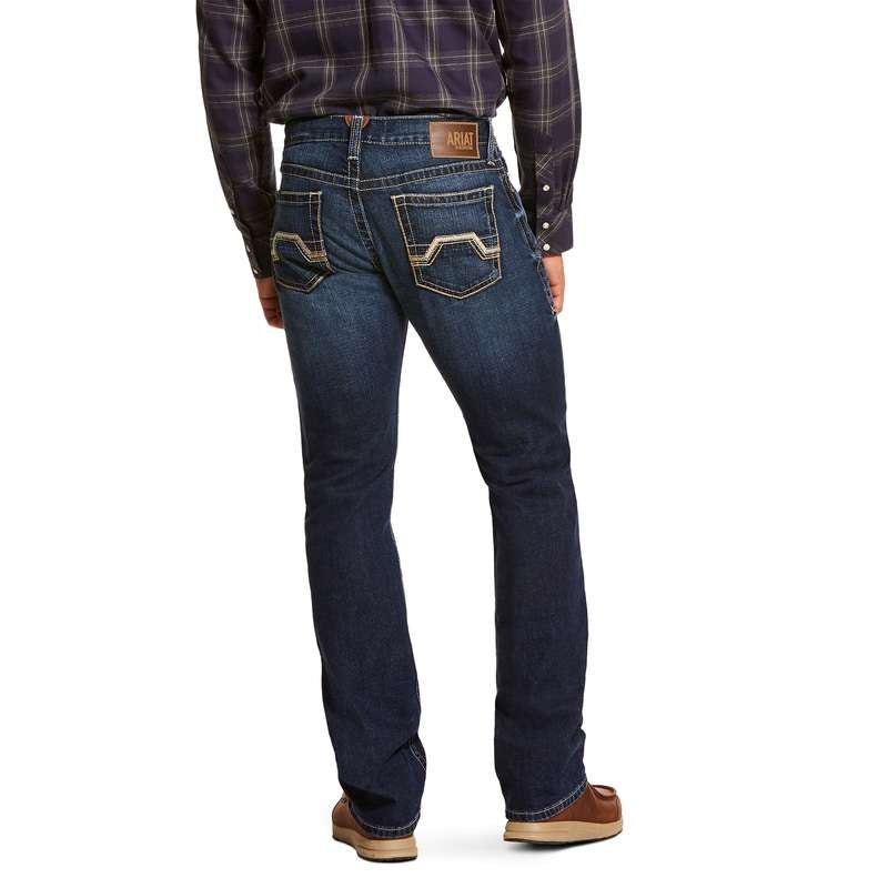 ARIAT MENS M7 STRAIGHT REDDING SALTON JEANS