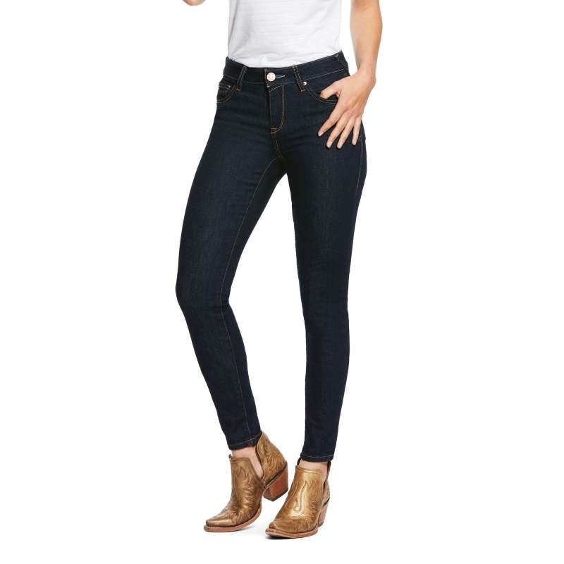 ARIAT LADIES ULTRA STRETCH SKINNY SIDEWINDER JEANS