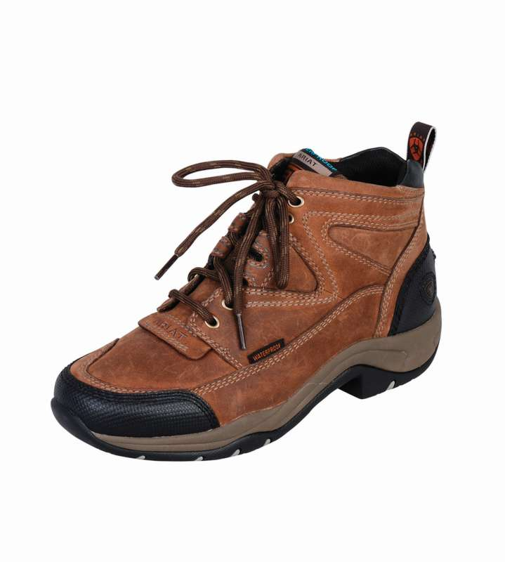Ariat Mens Dura Terrain H2O Distressed Brown