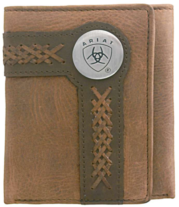 ARIAT TRI-FOLD WALLET 3102A