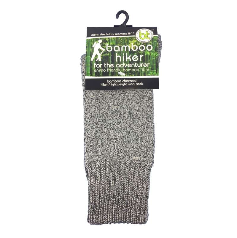 Bamboo Hiker Socks Grey Marle