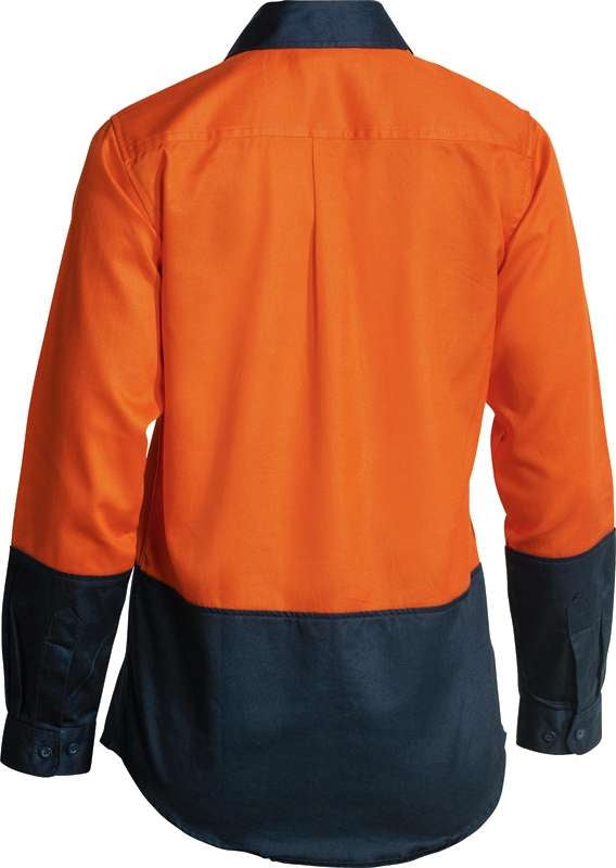 BISLEY LADIES HIVIS SHIRT O/N BL6267
