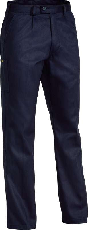 BISLEY ORIGINAL DRILL WORK PANT NAVY BP6007