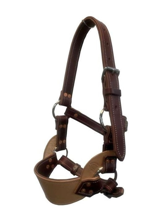 TTS BRONC HALTER ALL LEATHER