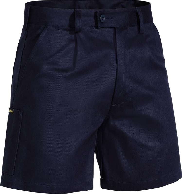 BISLEY ORIGINAL DRILL WORK SHORT BSH1007 Navy