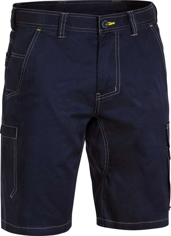 BISLEY COOL VENT LIGHT WEIGHT CARGO SHORT BSHC1431 Navy