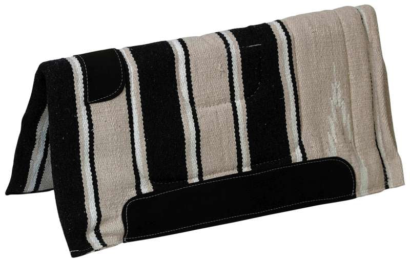 NAVAJO SADDLE PAD WITH WEAR LEATHERS