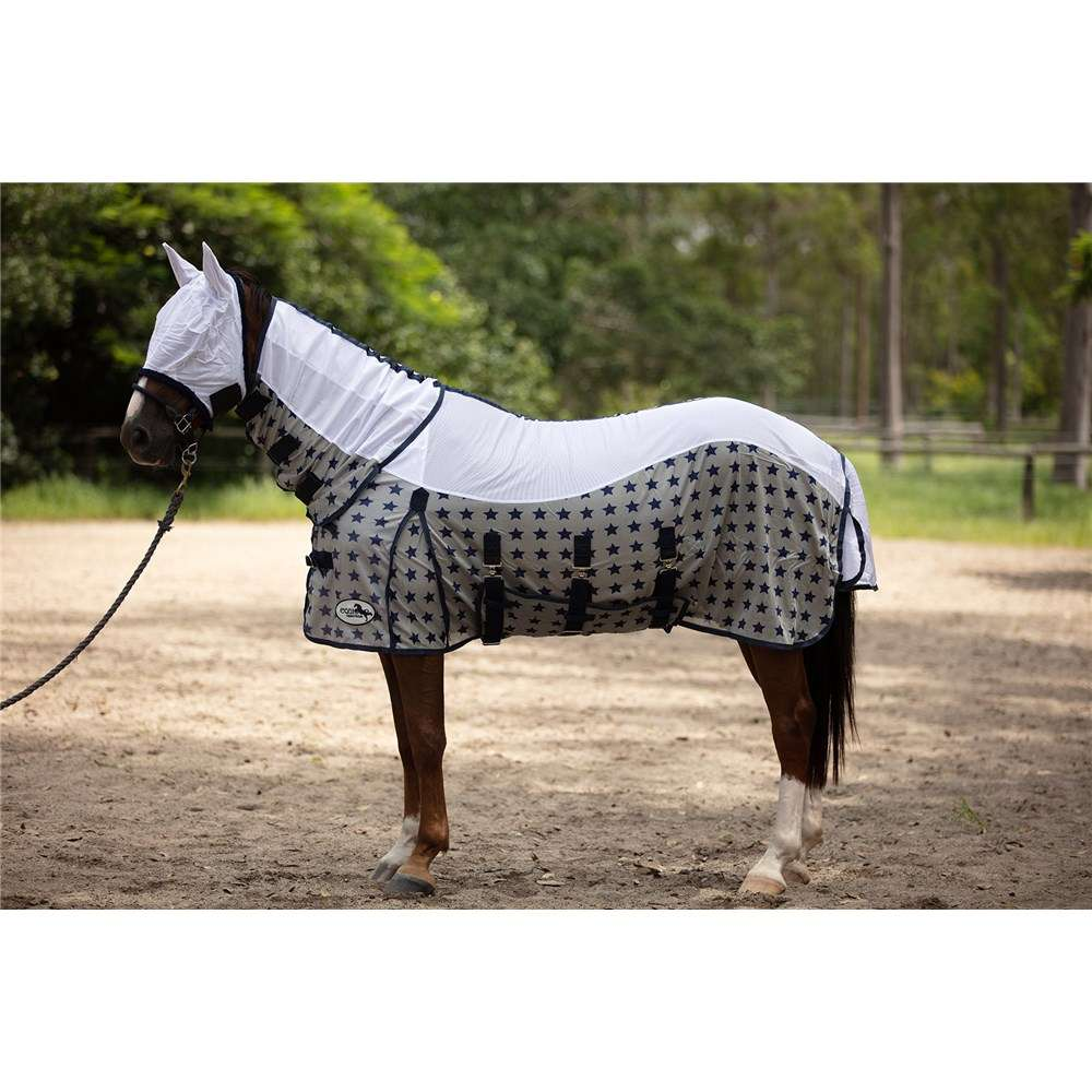 EQUIDOR FLY MESH COMBO WITH FLY MASK