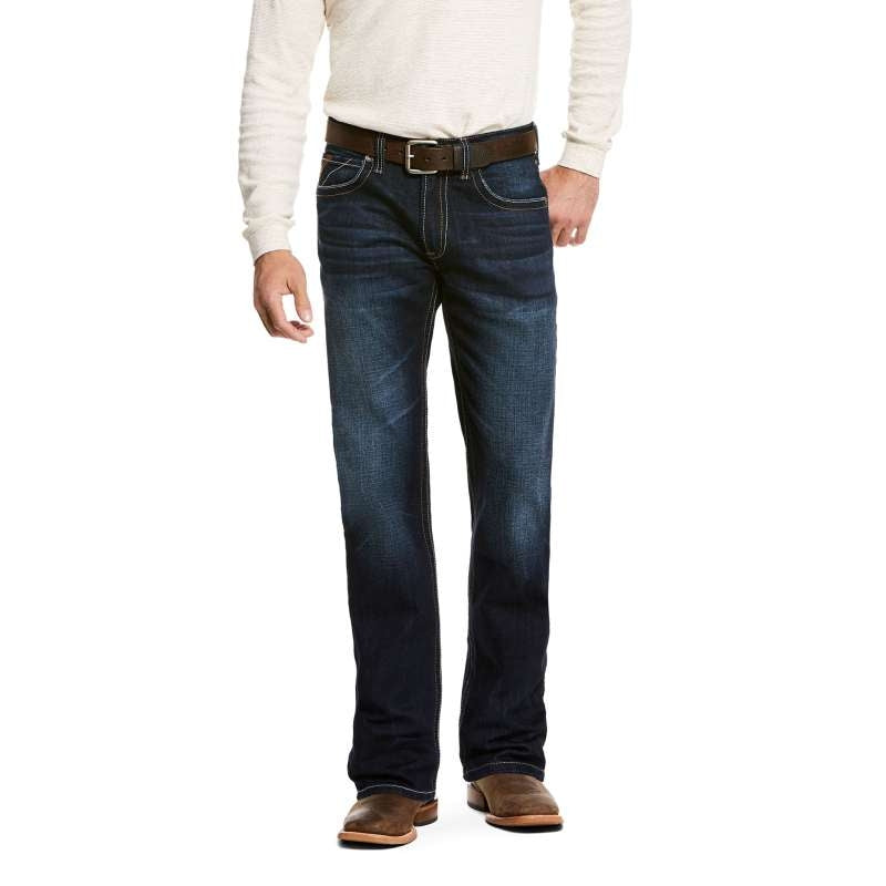 ARIAT MENS M5 RALSTON STRAIGHT LEG DODGE JEANS