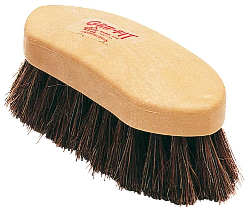 Grip-Fit Small Horsehair Dandy Brush
