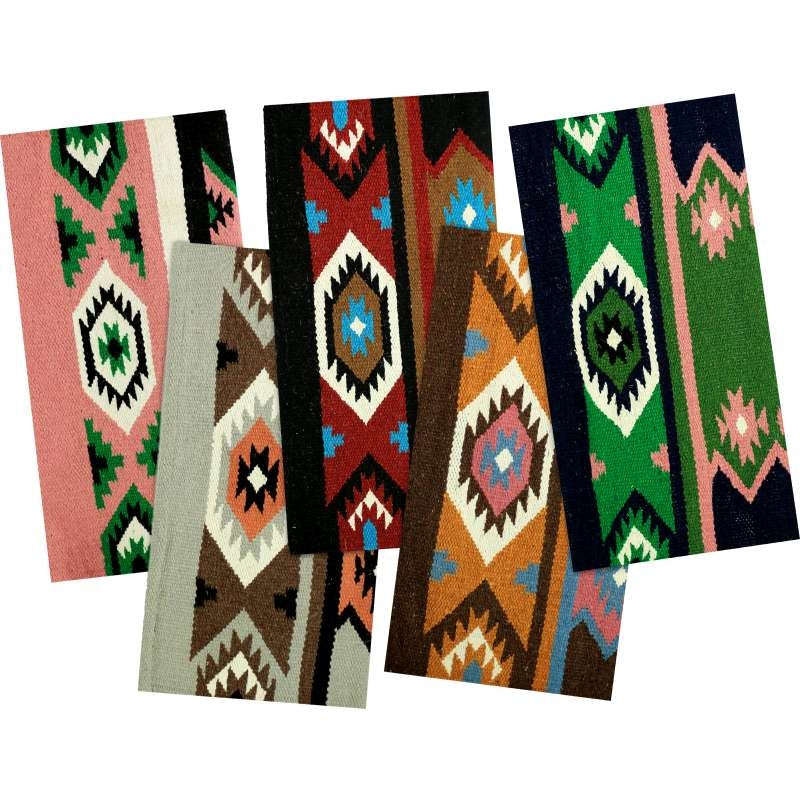 NAVAJO HEAVY WOOL SADDLE CLOTH ASSORTED COLOURS