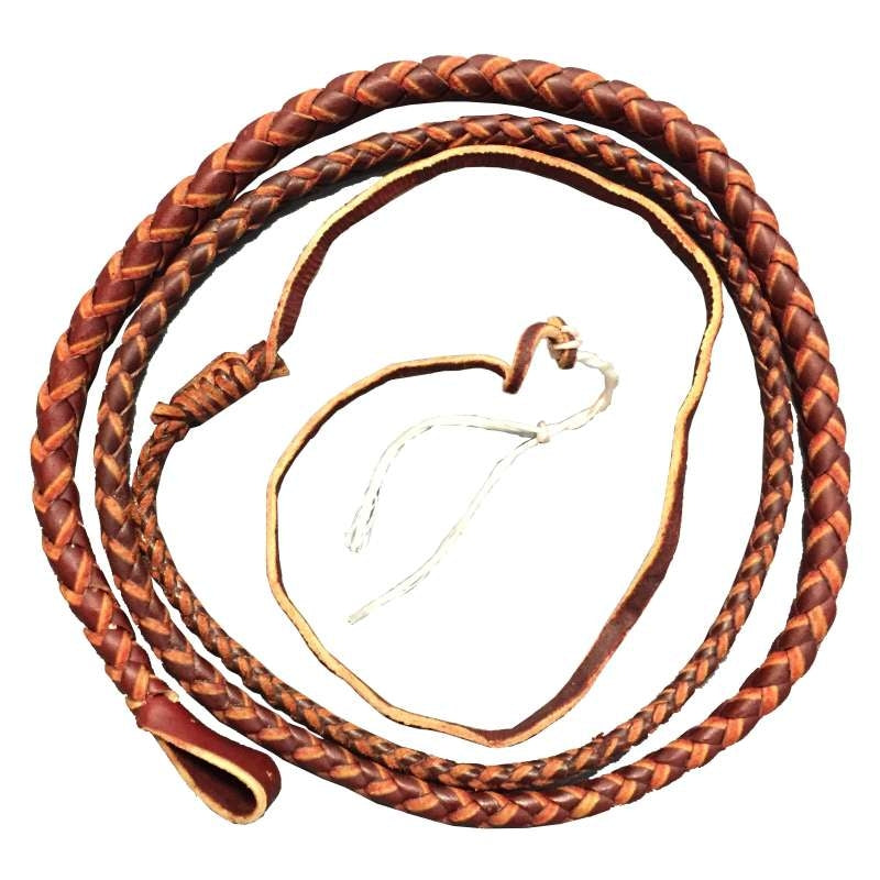Nemeth Redhide Stockwhip Thong 6 Foot x 4 Plait