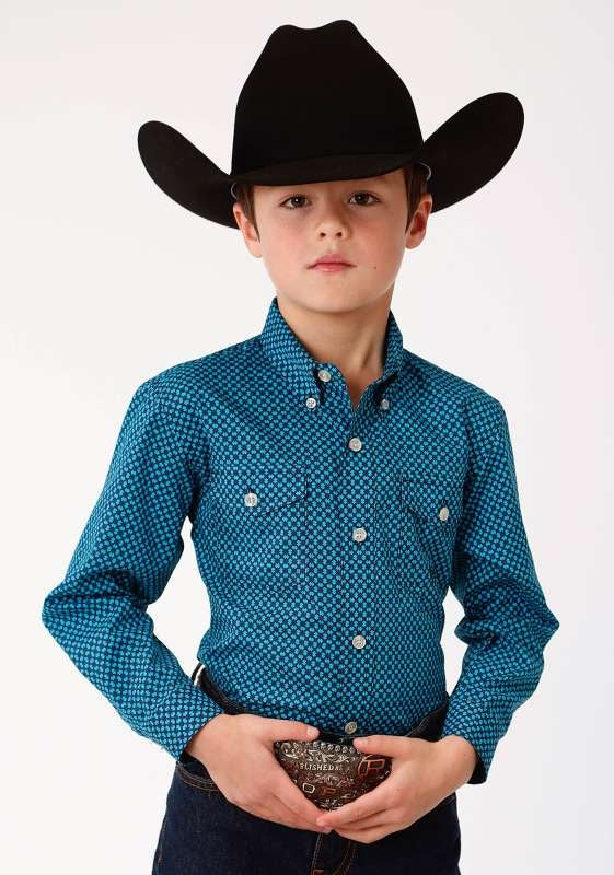 ROPER BOYS AMARILLO COLLECTION SHIRT