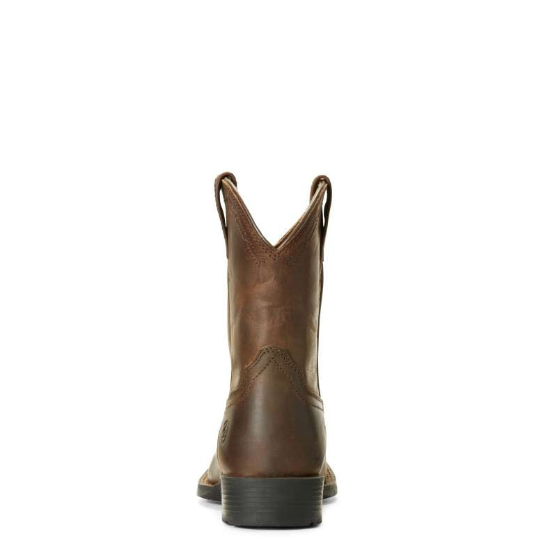ARIAT KIDS HERITAGE ROPER WIDE SQUARE TOE