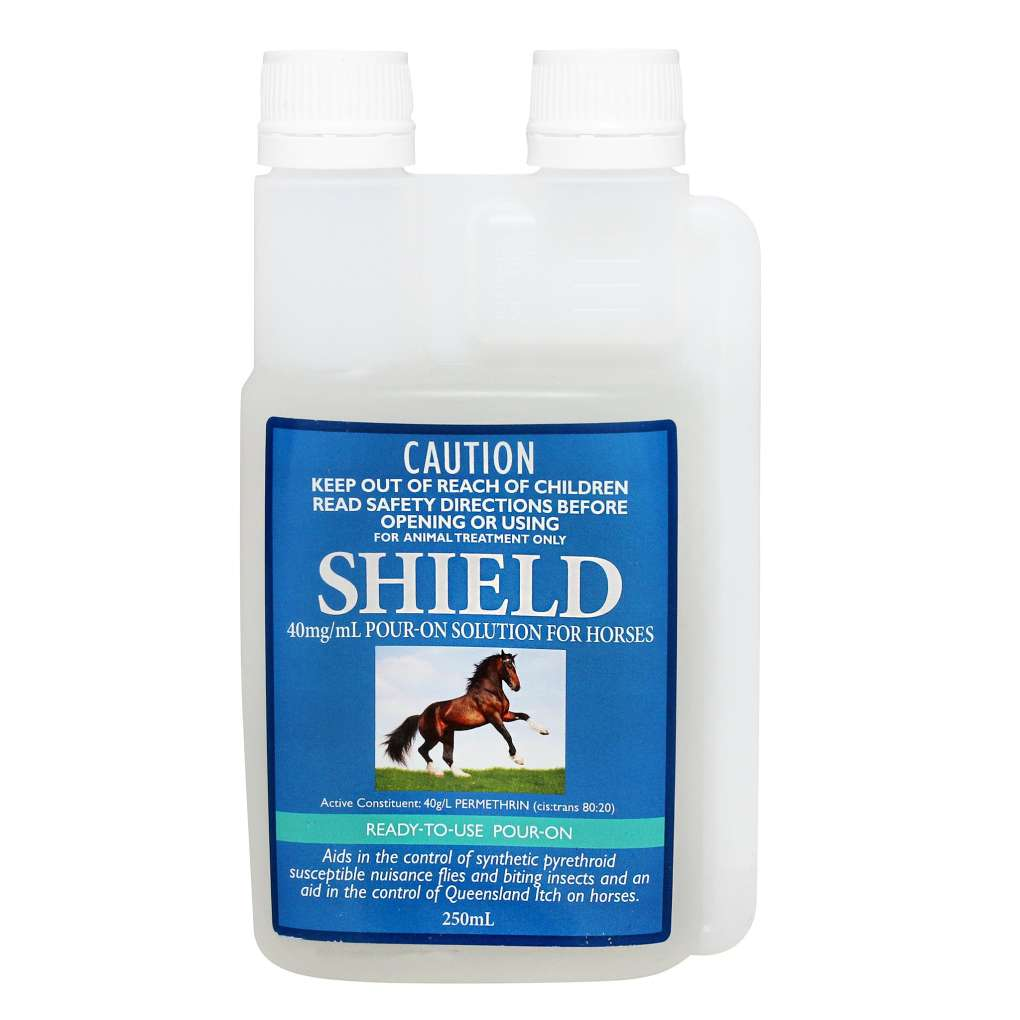 SHIELD POUR ON HORSE INSECTICIDE 250ML