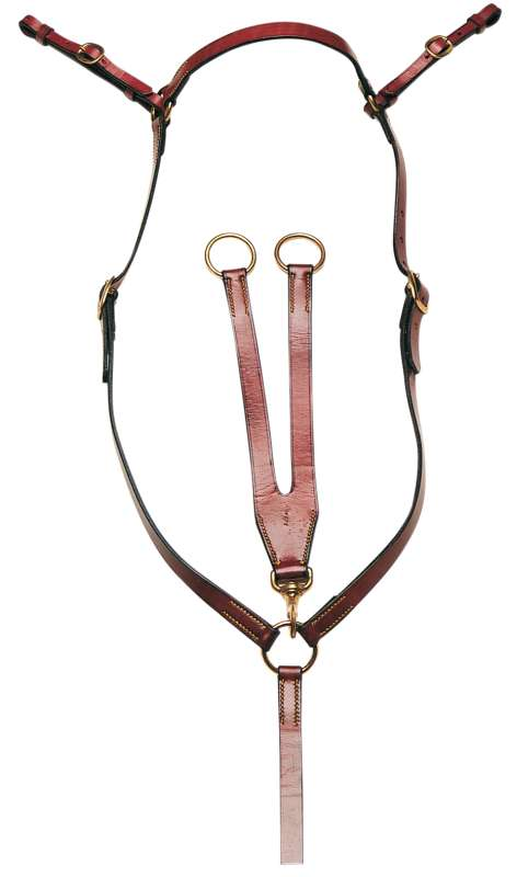 SIDNEY HAMILTON STOCKMANS BREASTPLATE 3/4 INCH