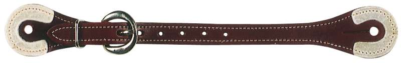 RAWHIDE REINFORCED SPUR STRAP