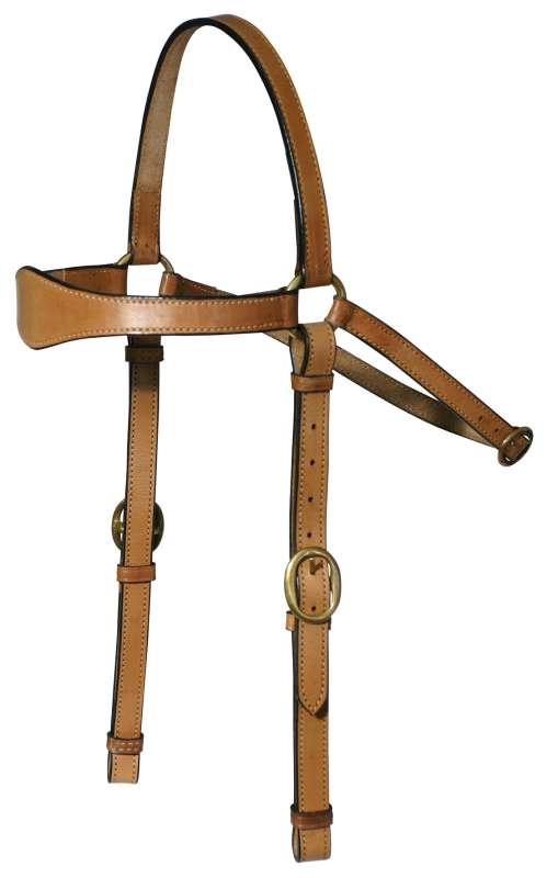 BRIDLE STOCKMASTER 3/4INCH LEATHER WITH REINS DARK