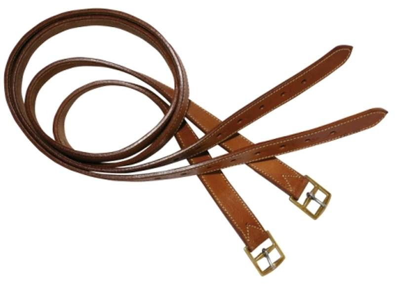 STC STOCKMASTER HEAVY DUTY STIRRUP LEATHERS