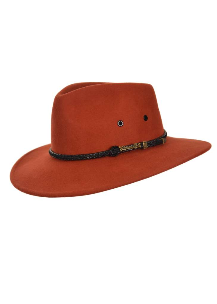 THOMAS COOK WANDERER CRUSHABLE HAT OCHRE