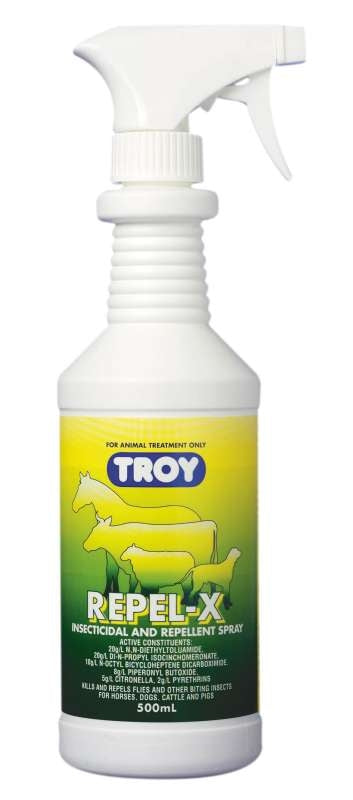 Troy Repel-X Fly Spray 500mL